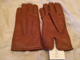 Перчатки натуральная кожа на шерсти НОВЫЕ