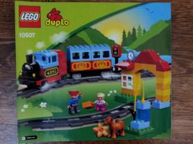 Мой первый поезд Лего Дупло (10507)