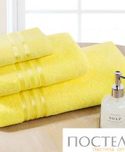 Полотенце для лица, DOME, Harmonika, Sol, Жёлтый, 50х80 см,