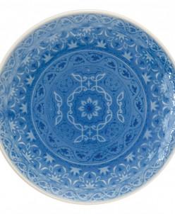 Тарелка закусочная (голубая) Ambiente без инд.упаковки
