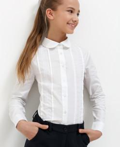Блузка детская для девочек Nemesia белый