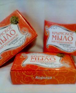 Крымское мыло 50 гр Корица