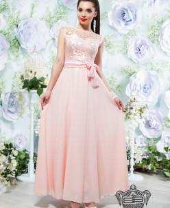 Вечернее платье в пол - 14102