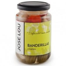 Коктейль их маринованных овощей 'Banderillas' (острый) 330 г