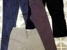 Одежда пакетом (джинсы, шорты, бриджи, лосины) р.