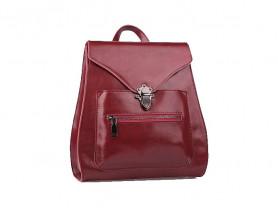 Новый кожаный рюкзак ULA бордо