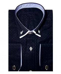 Рубашка для мальчика, Dast Cardin, арт.110-1, темно-синий