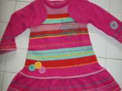 Теплое платье Deux par Deux (Канада) 2-3 года