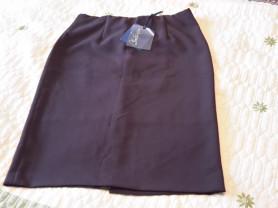 Красивая коричневая юбка футляр BLUE E. BY LES COP