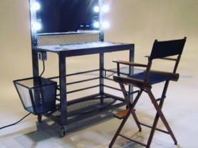 Зеркало визажиста, гримёрный стул, стол визажиста