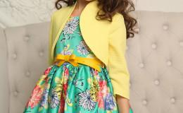 Комплект: детское платье и болеро «Алиса»