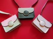 Новые стильные кожаные сумки Италия 3 цвета