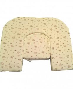 Подушка для кормления двойни Milk Rivers Twins нежно-желтая