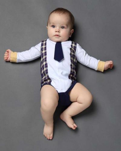 Боди с галстуком Ёмаё