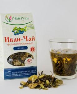 Иван-чай ферментированный с листом черники (70 гр)
