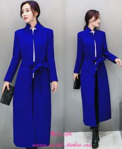 Кашемировое шерстяное пальто