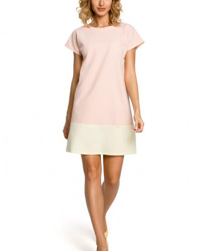 Платье MOE 100 двухцветное