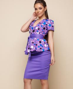Женский костюм 15010 фиолетовый