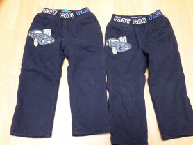 Утепленные джинсы, 18-24 мес, 500руб.