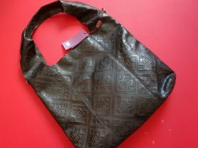 Новая удобная кожаная сумка мешок Италия
