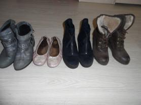 Мало б/у резиновые сапоги ботинки балетки ботильон