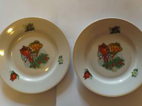 Посуда Дулево Колобок Новый для детей тарелки
