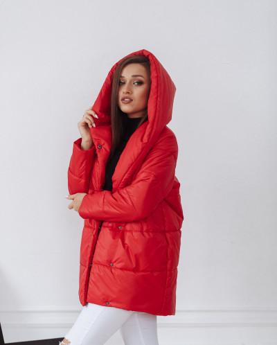 Куртка женская демисезонная 22260 (красный)