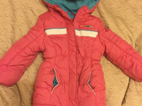 Тёплая курточка 4 р-р..маломер