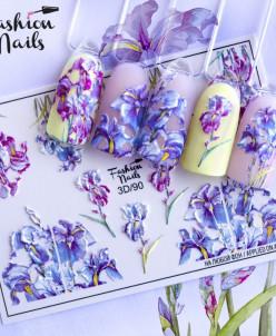 Fashion Nails, Слайдер-дизайн 3D/90