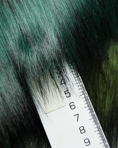 Искусственный мех в зеленых тонах
