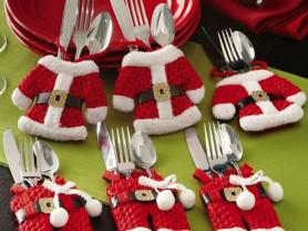 наборы для сервировки новогоднего стола