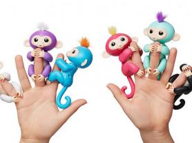 Интерактивная обезьянка - Fingerlings Monkey Зоя