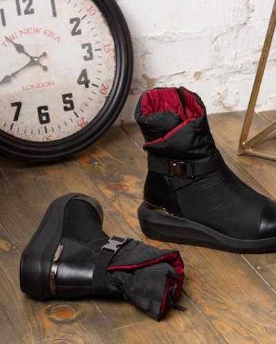 Ботинки KING BOOTS женские KB649SW Черные
