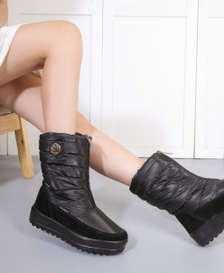 Дутики King Boots KB520SW Schwarz Черный
