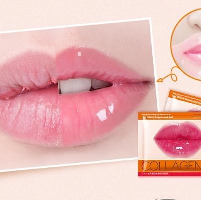 Коллагеновая маска для губ Cherry
