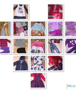 одежда для девочки 86-116