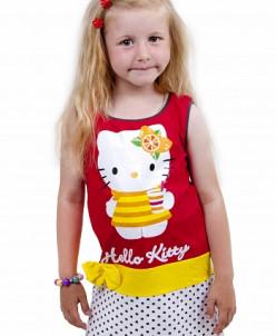 "Платье без рукавов ""Hello Kitty"""