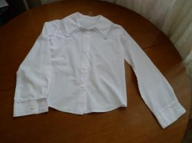 "Школьная белая блузка ""Перемена"""