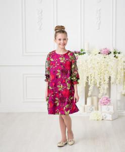 Платье «Цветная поляна»