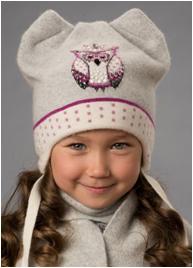 ВИОЛЕТТА комплект (шапка, шарф)