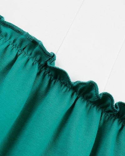 Платье комбинированное (92-116см)