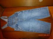 Полукомбинезон джинсовый The Children's Place 4-5л