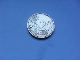 20 Евро Центов 2002 год Италия