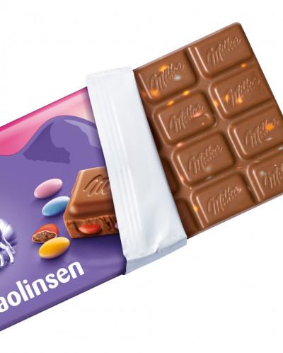 Шоколад Milka Bunte Kakaolinsen