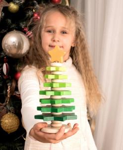 Пирамидка «Елочка зеленая» ТМ Вальда