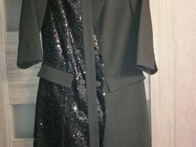 комплект  платье -пиджак +сорочка р 44 Беларусь