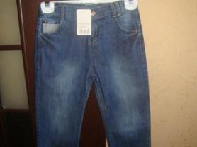 Новые джинсы д/м Monazzi 122-128р.