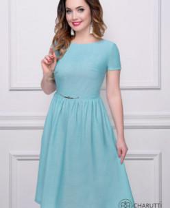 Платье Барби (скай)