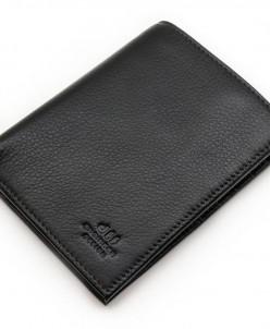 Мужское кожаное портмоне для документов и денег dff Д 7000-0