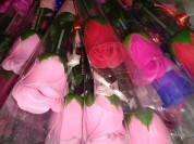Роза мыло в наличии по 50р